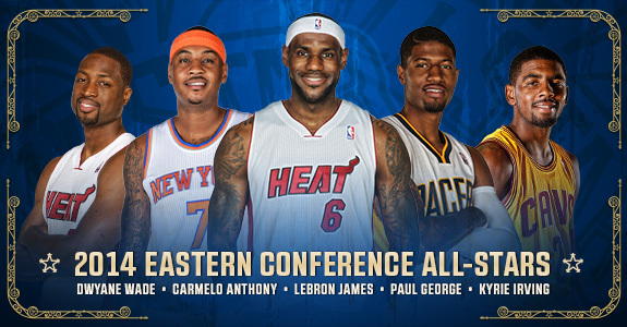 NBA 2014 All-Stars / Team West - Team East (17.02.2014)