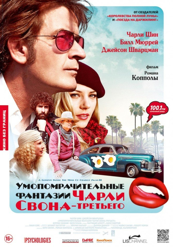 Умопомрачительные фантазии Чарли Свона-третьего (2013)
