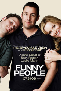 Смотреть фильм онлайн Приколисты / Funny People (2009) CAMrip