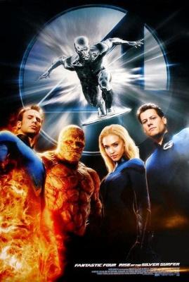 Фантастическая четверка (2005) онлайн