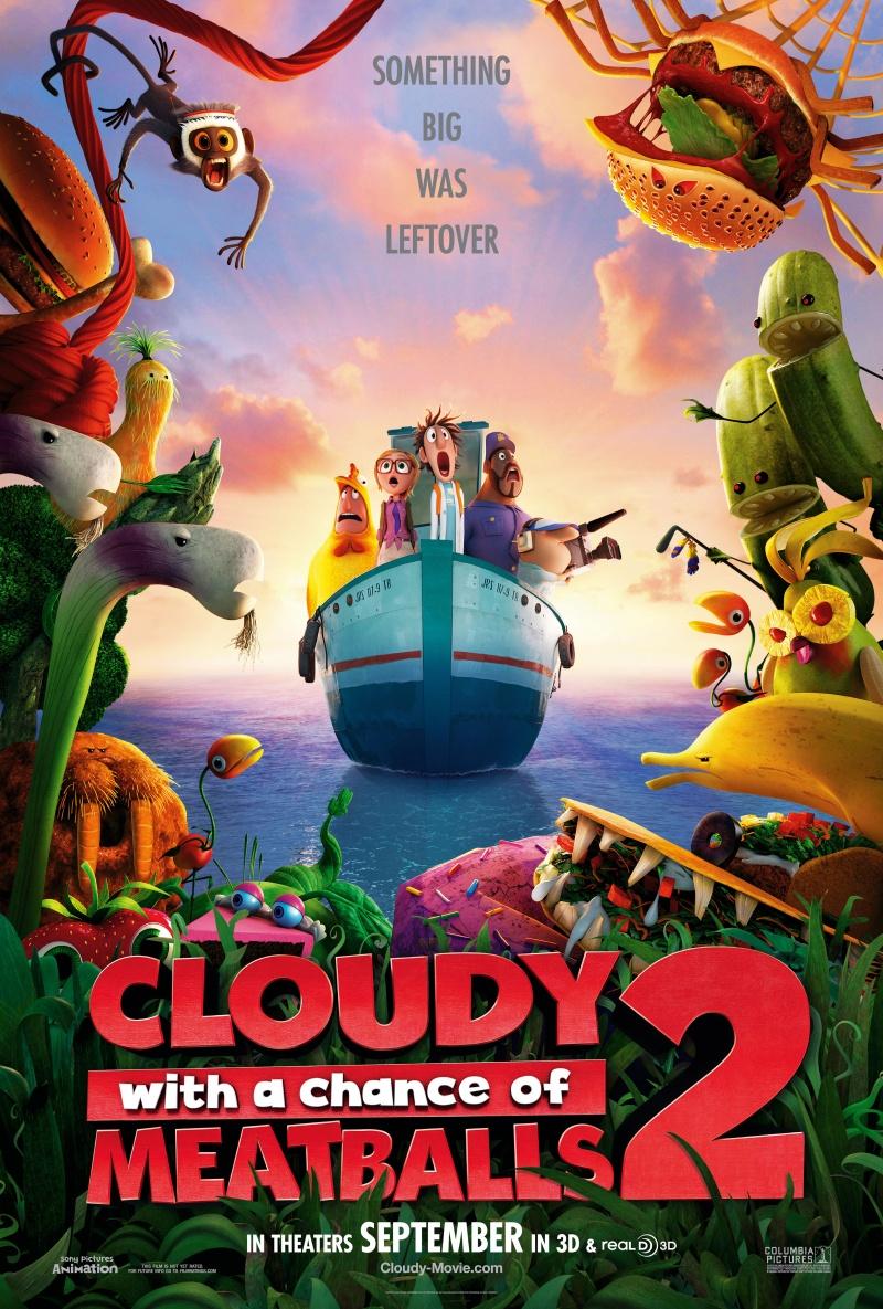 Мінлива хмарність, часом фрикадельки 2 /Cloudy with a Chance of Meatballs 2